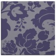 rug #628513 | square blue-violet damask rug