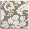 rug #628565 | square mid-brown damask rug