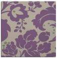 rug #628605   square purple damask rug