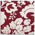 rug #628637 | square pink damask rug