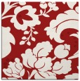 rug #628673 | square red damask rug