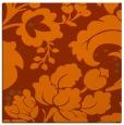 rug #628681 | square red-orange damask rug