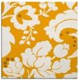 rug #628761 | square light-orange damask rug
