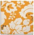 rug #628773 | square light-orange damask rug