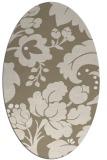 rug #628780 | oval damask rug
