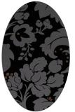 rug #628785 | oval damask rug
