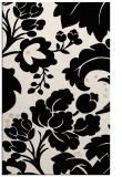 rug #629205    blue-green damask rug