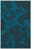 rug #629209 |  blue damask rug