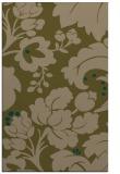rug #629249 |  brown damask rug
