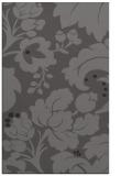 rug #629277 |  brown damask rug
