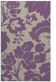 rug #629309 |  purple damask rug