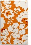 rug #629321    orange damask rug
