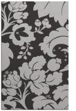 rug #629329 |  red-orange damask rug
