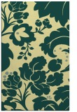rug #629333 |  yellow damask rug
