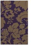 rug #629361 |  purple damask rug