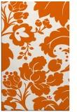 rug #629397    red-orange damask rug
