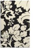 rug #629437 |  black damask rug