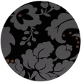 rug #629489 | round damask rug