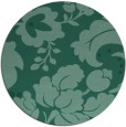 rug #629537 | round damask rug