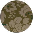 rug #629601 | round brown rug