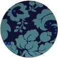rug #629652 | round damask rug