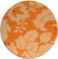 rug #629743 | round damask rug