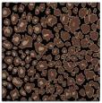 rug #630201 | square brown circles rug
