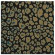 rug #630205 | square black animal rug