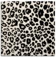 rug #630261   square blue-green animal rug