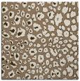 rug #630337 | square beige circles rug