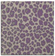 rug #630365 | square purple circles rug