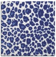 rug #630465 | square blue circles rug
