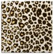 rug #630481 | square brown animal rug