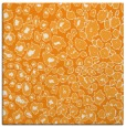 rug #630529 | square light-orange circles rug