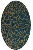 rug #630560 | oval circles rug