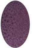 rug #630636 | oval circles rug