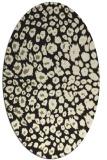 rug #630845   oval black rug