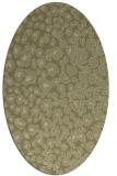 rug #630861   oval light-green animal rug