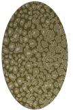 rug #630869   oval light-green animal rug