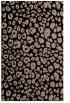 rug #630901    beige circles rug