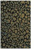 rug #630909 |  black animal rug