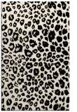 rug #630965 |  blue-green circles rug