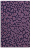 rug #630985 |  purple circles rug
