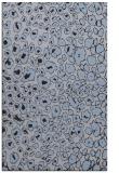 rug #631001 |  blue-violet animal rug