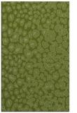 rug #631013 |  green circles rug