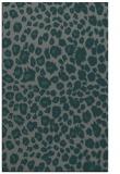 rug #631017 |  green circles rug