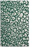rug #631021    green circles rug