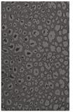rug #631037 |  brown circles rug
