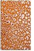 rug #631081 |  orange circles rug