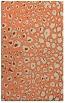 rug #631085 |  orange circles rug